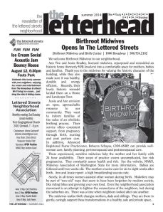 Newsletter 2014 front page